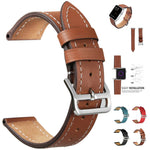Leather Replacement Watch Wrist Strap Band For Apple iwatch Smart Watch 42mm - Itstechy.com