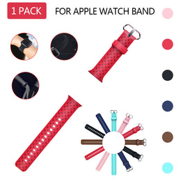 Soft Weave Silicone Replacement Sport  Band Strap For Apple watch Iwatch 42mm - Itstechy.com