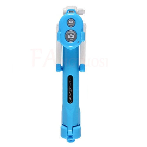 New 3 in 1 Wireless Bluetooth Selfie Stick + Mini Selfie Tripod with Remote Control For iPhone X 8 7 6s plus Portable Monopod - Itstechy.com