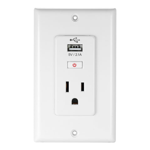 WIFI Smart Socket Wireless Control Switches Home Smart Plug Socket - Itstechy.com