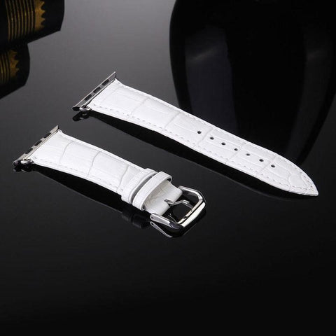 Leather Buckle Wrist Watch Band Strap Belt for IWatch Apple Watch 42mm - Itstechy.com