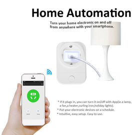 Intelligent WiFi Socket Wifi Smart Plug Home Automation for Phone App Timing for Switch Remote Control Wifi Socket - Itstechy.com