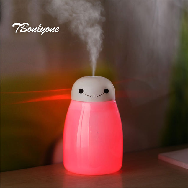 TBonlyone 300ML Car Aroma Diffuser Humidifier Portable Car Aromatherapy Humidifier Air Diffuser Purifier Essential Oil Diffuser - Itstechy.com