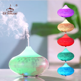 GX.Diffuser 160ML Aroma Diffuser Humidifier Aromatherapy Oil Electric Aroma Diffuser Essential Oil Aroma Diffuser Mist Miker - Itstechy.com