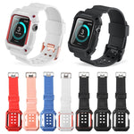Plastic Protective Case Shockproof Watchband for Apple Watch Series 3/2/1 Sport 42 mm 38 mm Strap For iwatch Band - Itstechy.com
