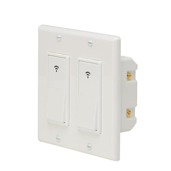 Smart Home Automation Modules 100-240V Smart WIFI LED Light Switch Wall Panel Mobile APP Remote Control Smart Modules - Itstechy.com
