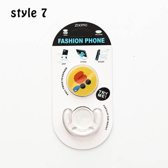 Phone Stand Suef Round Lazy Bracket Suef  Cartoon Balloon Bracket 1 PC Phone Holder Tablets Flexible Car Grip Phone Stand - Itstechy.com