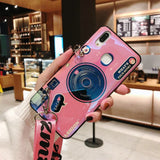 Snzvok Camera Case With Popsocket For Samsung J2 J3 J5 J7 Pro For Samsung J2 J4 J5 J6 J7 Prime J4 J6 Plus Cover With Strap - Itstechy.com