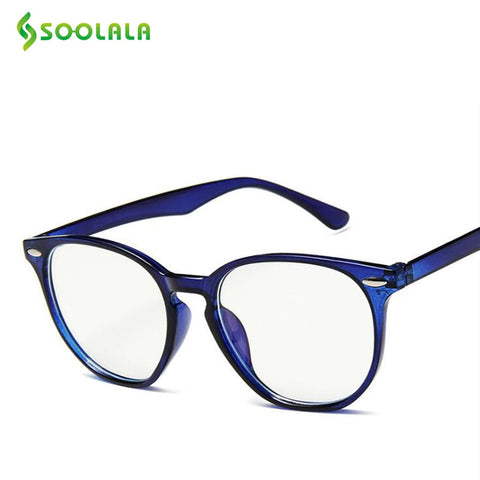 SOOLALA Anti Blue Light Blocking Glasses Men Women Clear Regular Computer Gaming SleepingBetter Blue Light Filter Glasses