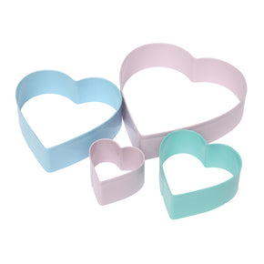 Heart Cookie Cutters Set of 4
