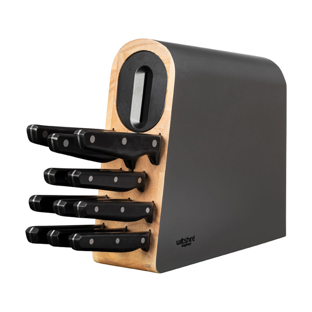 Staysharp Triple Rivet Knife Block Set 12 Piece