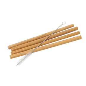 Reusable Bamboo Straws Pack of 4