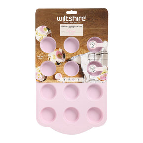 Silicone Mini Muffin Pan 12 Cup