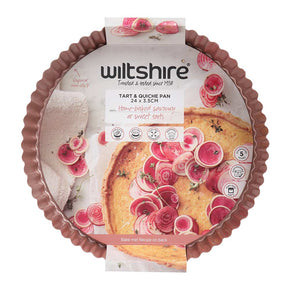 Rose Gold Quiche & Tart Pan 24cm