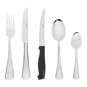 Baguette Cutlery Set with Steak Knives 50 Piece