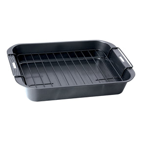 Easybake Deep Roast Pan with Rack 33cm