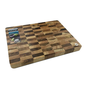 End Grain Chequered Chopping Board