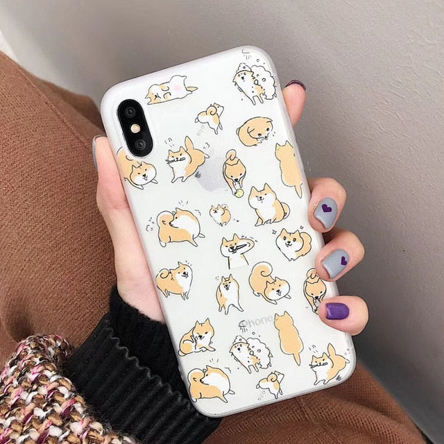 """Shibas Rule The World"" Hard Case for iPhone"