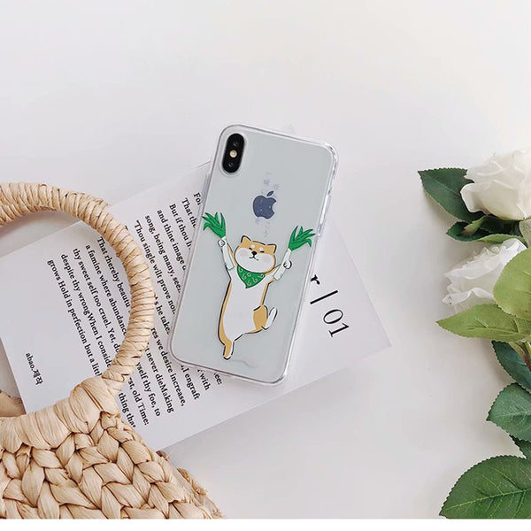 """Drunk Shobe"" Soft Phone Cases For iPhone X, 8, 8+, 7, 7+, 6, 6S, 6S+"