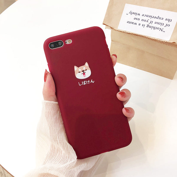 """The Classic Kawaii"" Soft Phone Cases For iPhone X, 6, 6S, 7, and 8+"