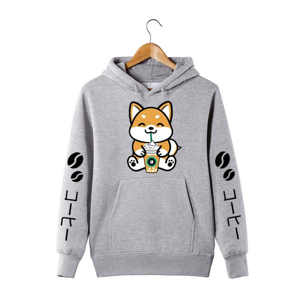 [Coffee Frappe Collection] Shiba Inu Unisex Hoodie