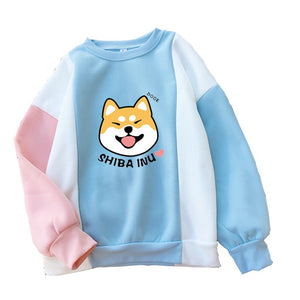"""Sheeb Gang"" [2019 New Harajuku] - Official Unisex Kawaii Doge Crewneck Sweatshirt"