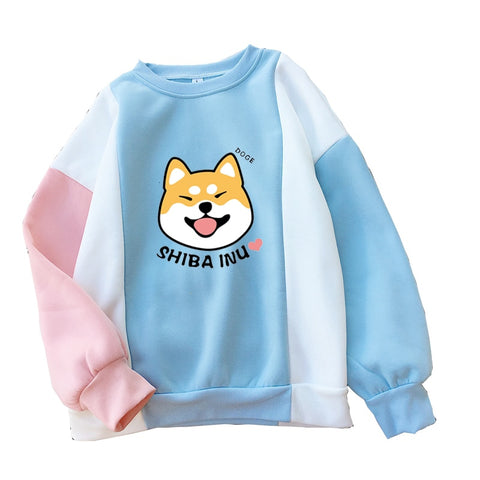 """Sheeb Gang"" [2020 New Harajuku] - Official Unisex Kawaii Doge Crewneck Sweatshirt"