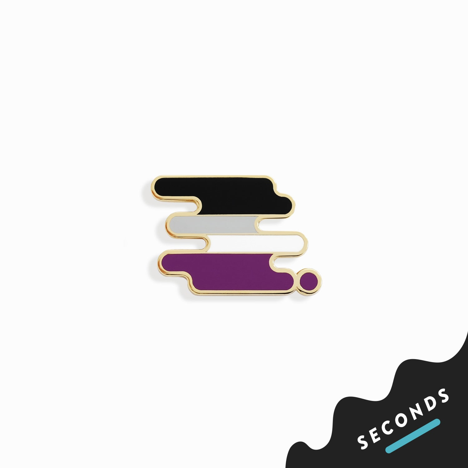Seconds Sale - Ace Pride Pin