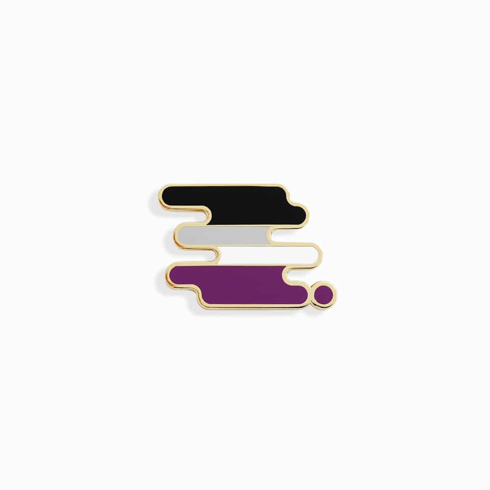 Ace Pride Pin