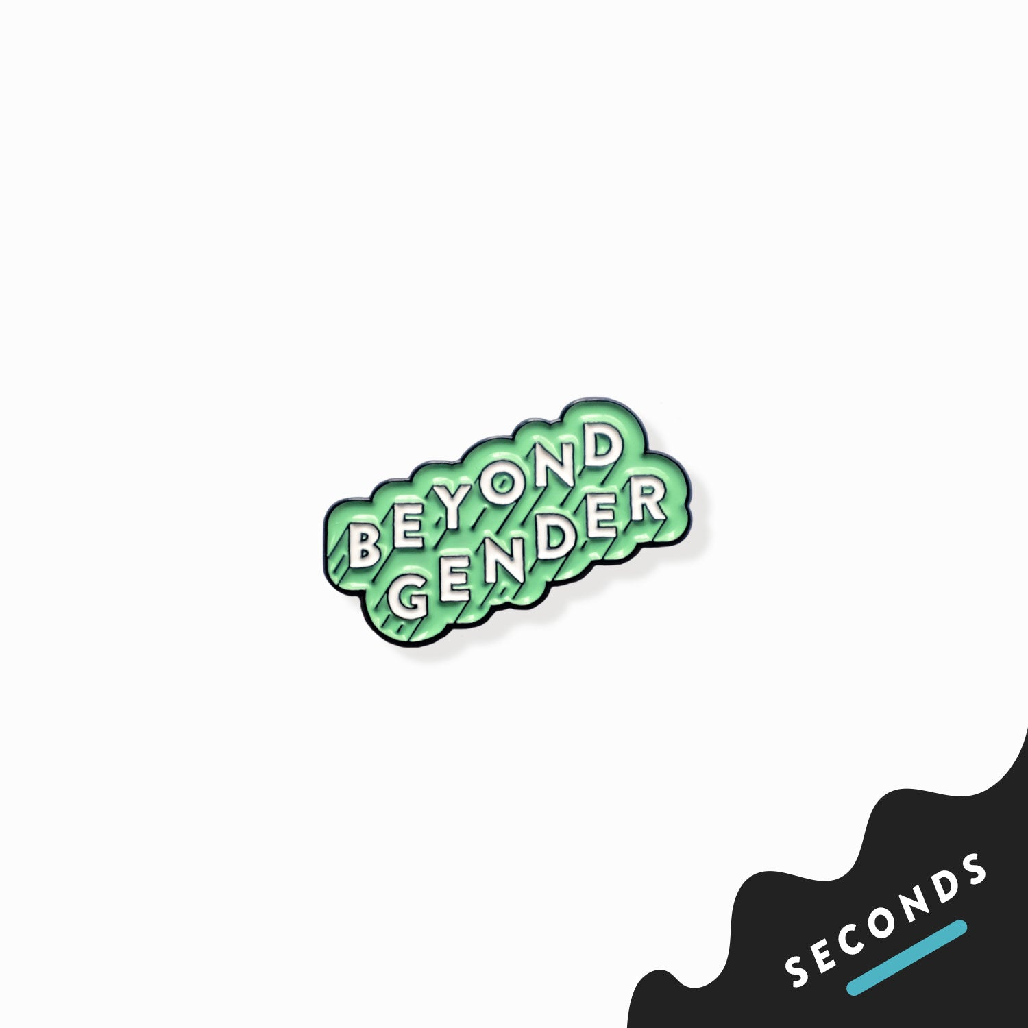 Seconds Sale - Beyond Gender Pin
