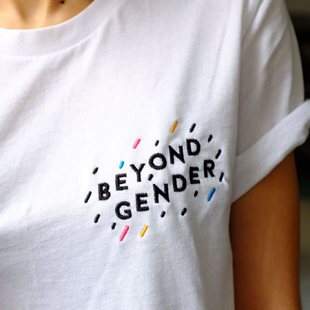 Beyond Gender Embroidered T-Shirt