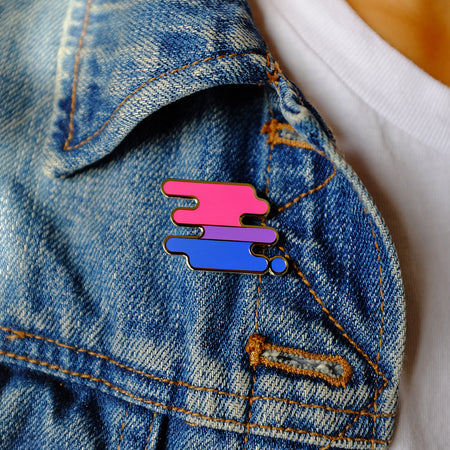 Bisexual Pride Pin