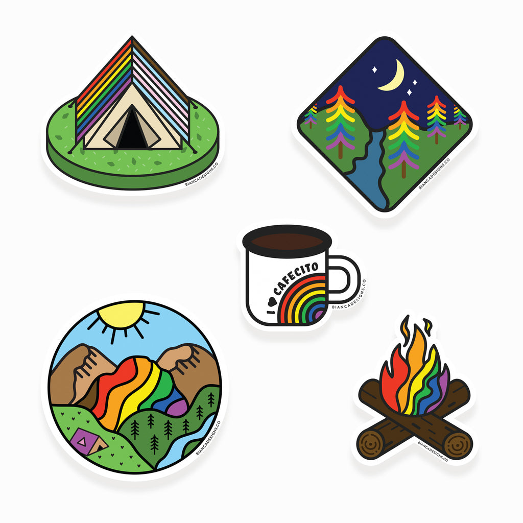 Campy Vibes Sticker Pack