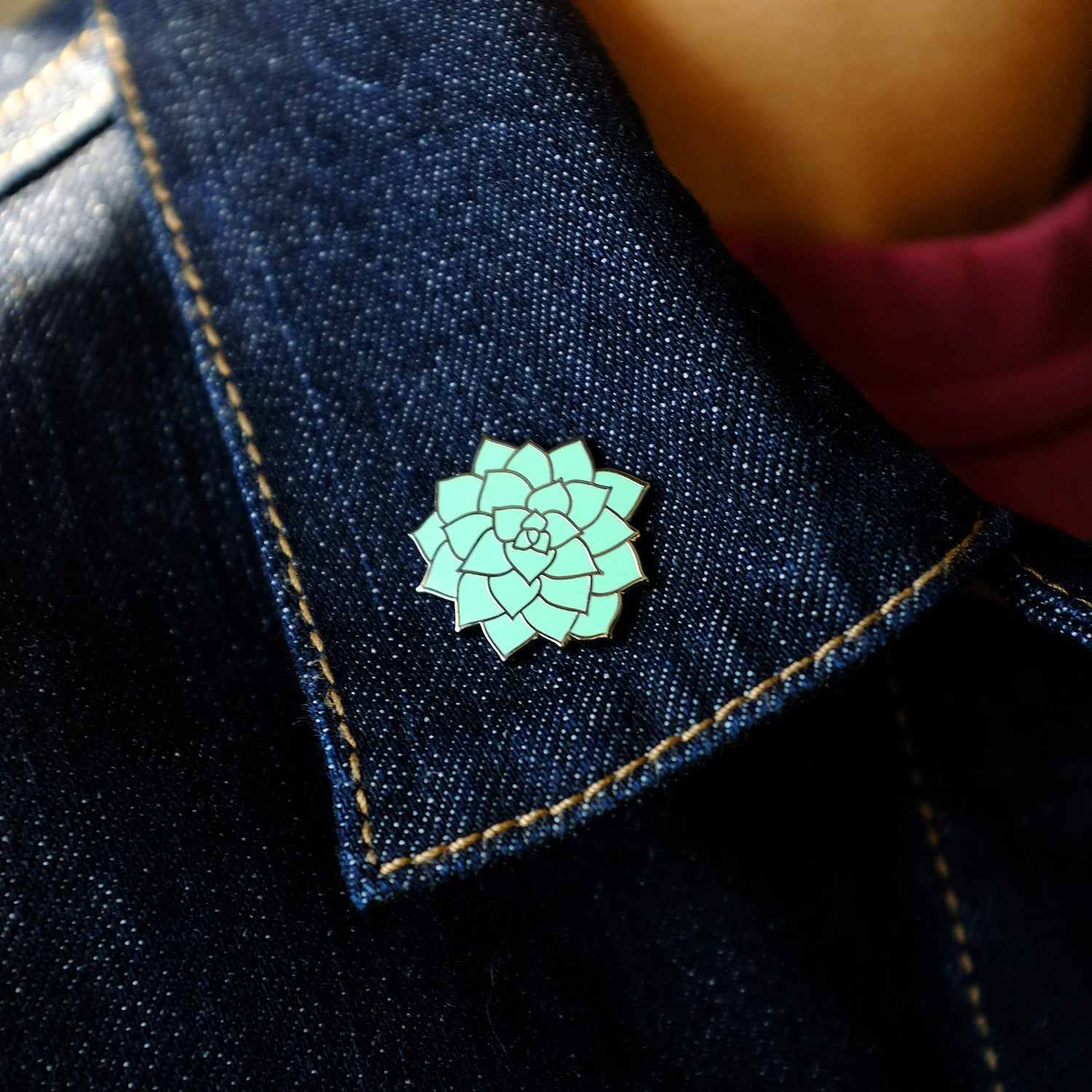 Cheeky Succulent Pin