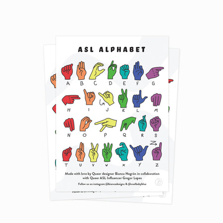 Deaf + Queer Sticker Bundle