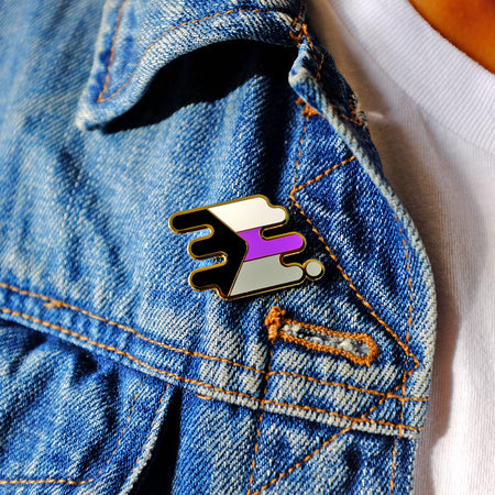Demisexual Pride Pin