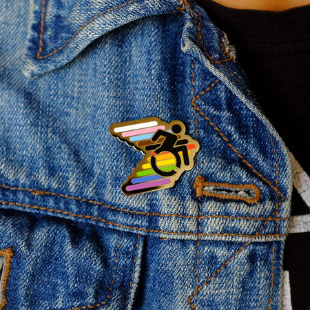 Disability Pride Pin