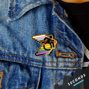 Seconds Sale - Disability Pride Pin