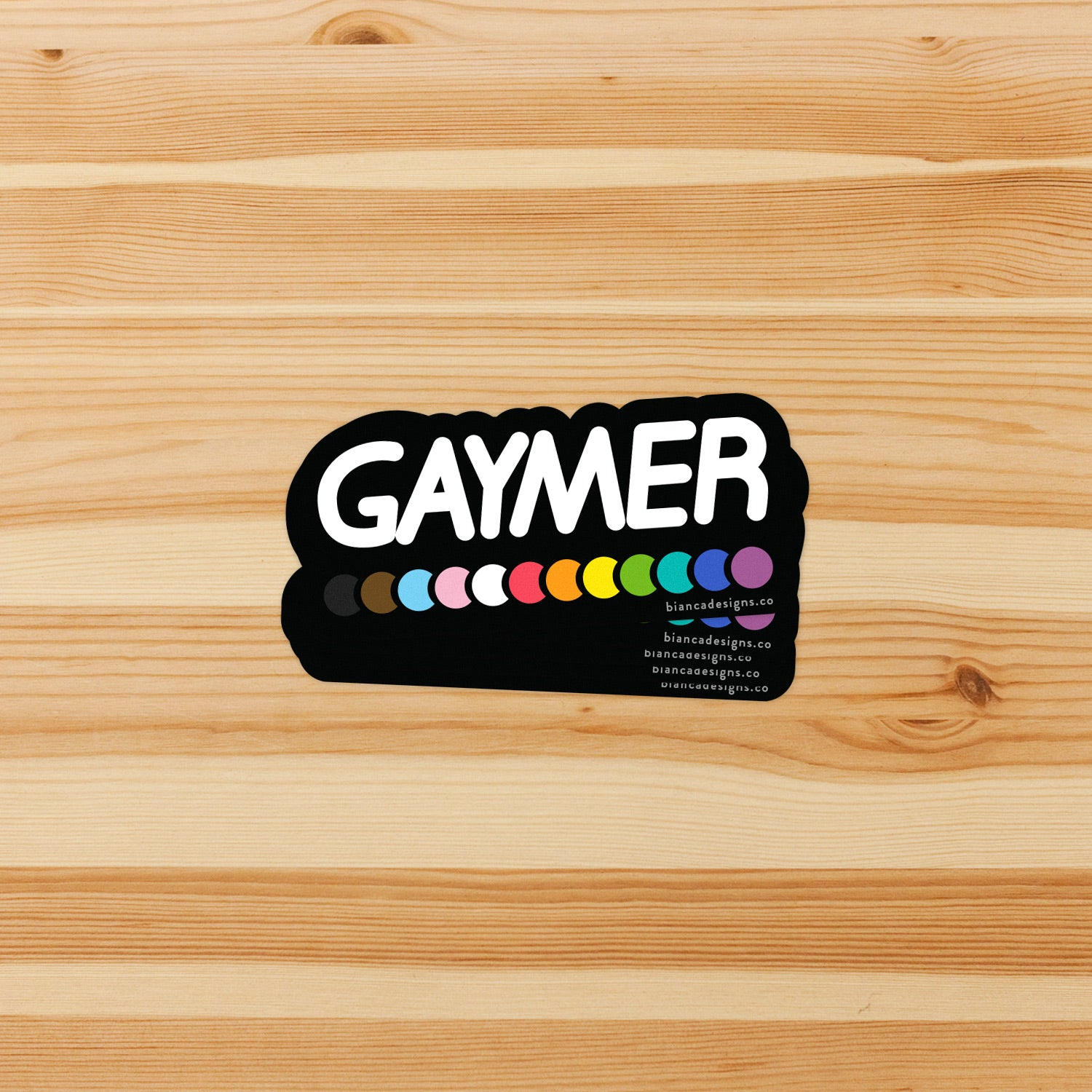 Gaymer Sticker