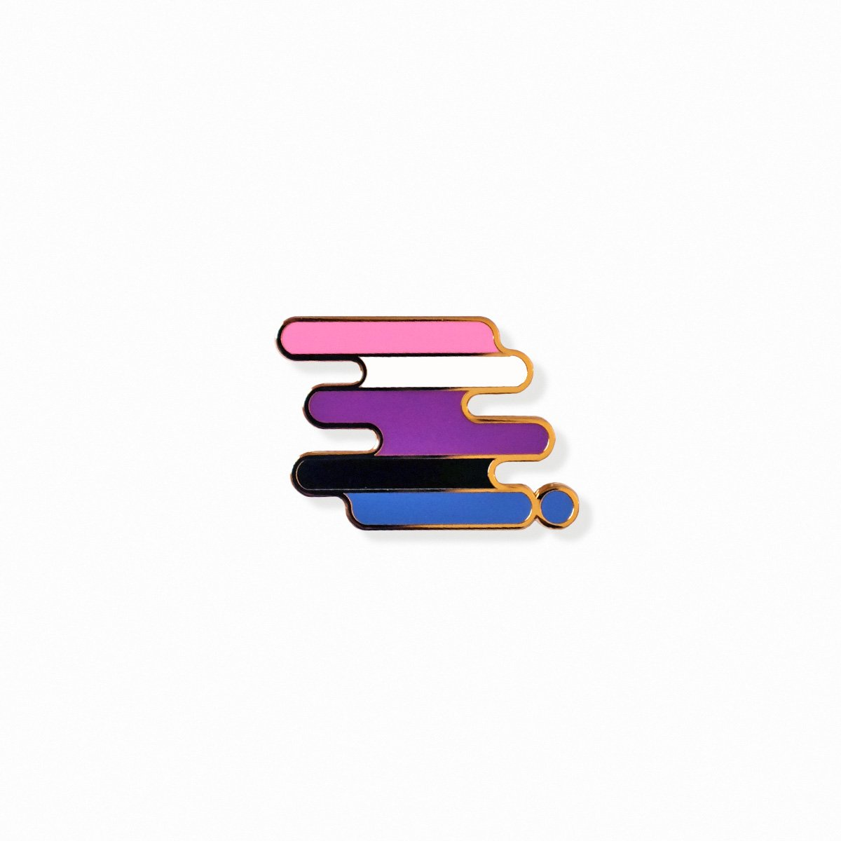 Gender-fluid Pride Pin
