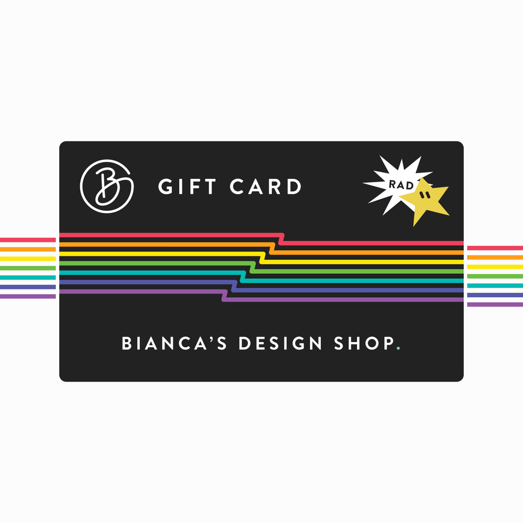 Bianca Designs a Gift Card