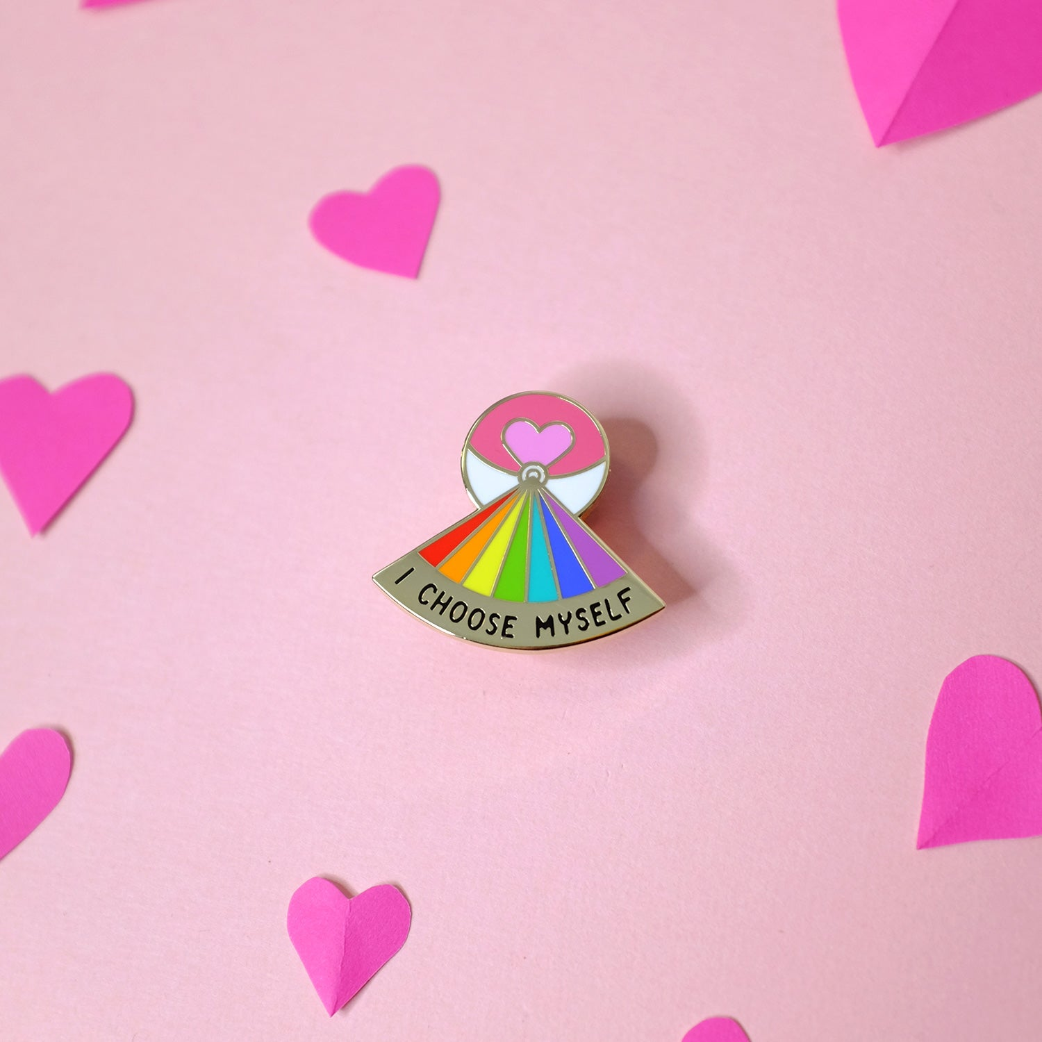 I Choose Myself Loveball Self Care Pin