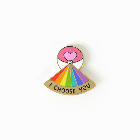 I Choose You Loveball Pin
