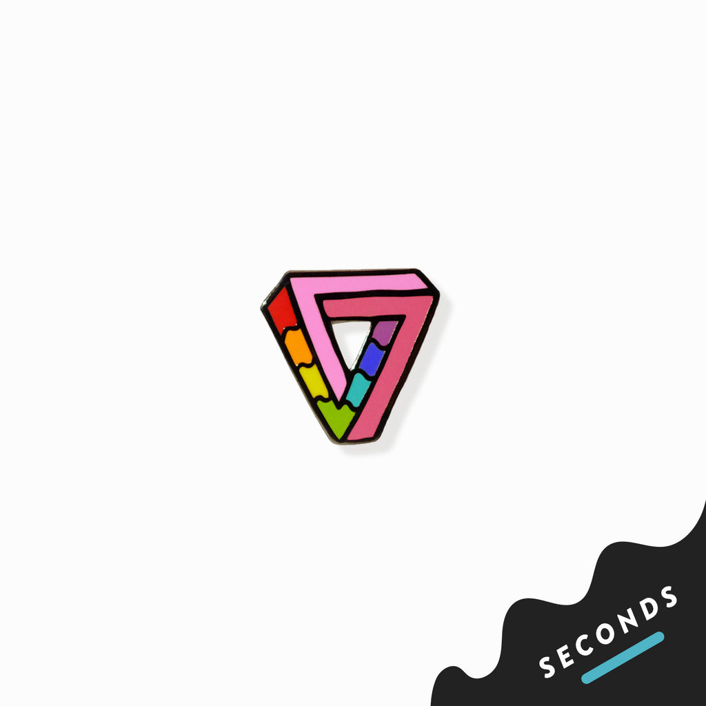 Seconds Sale - Impossibly Gay Triangle