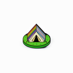 Inclusive Campy Tent Pin
