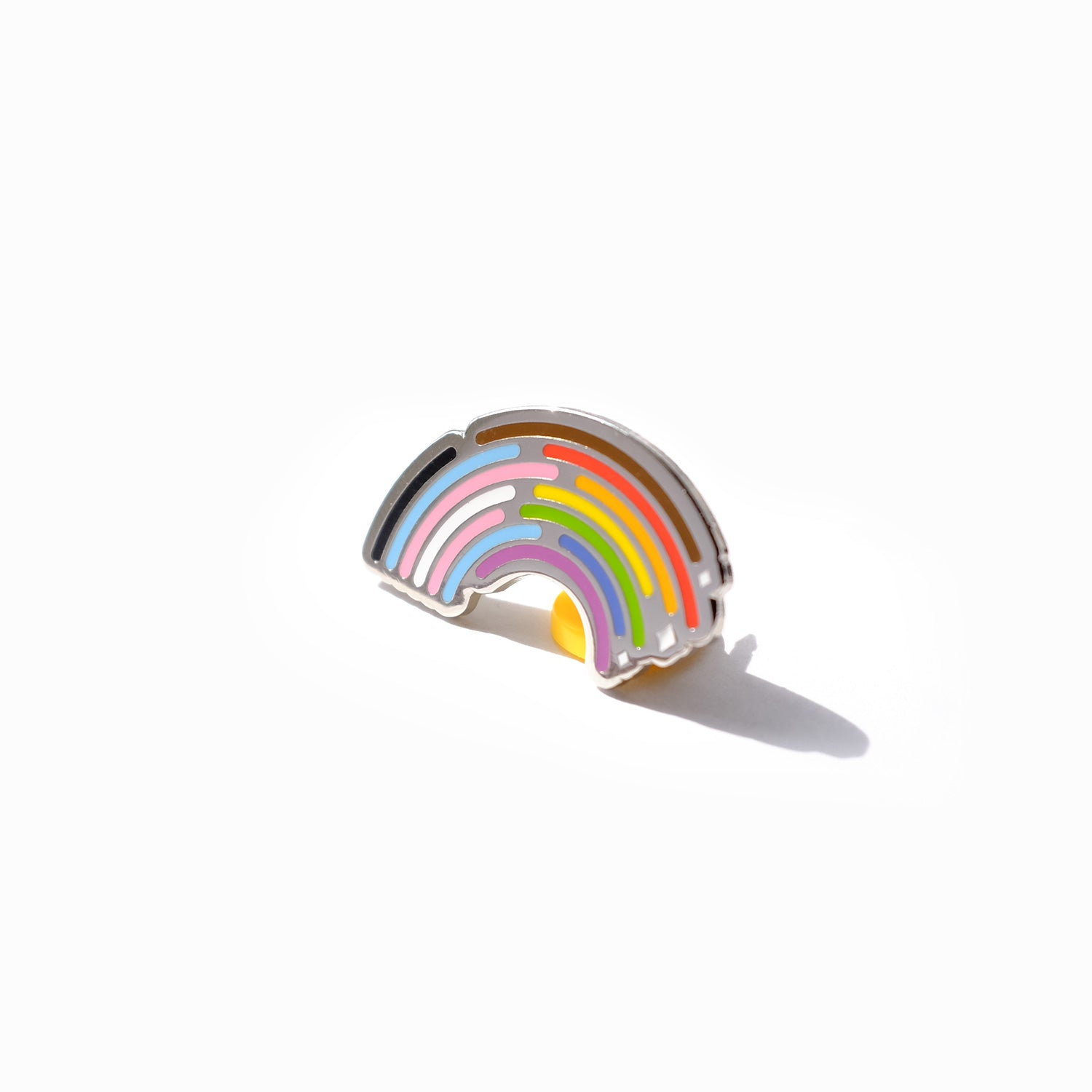 Inclusive Rainbow Pride Pin