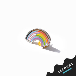 Seconds Sale - Inclusive Rainbow Pride Pin