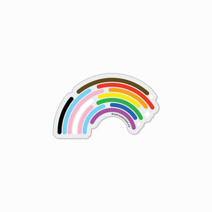 Inclusive Rainbow Magnet