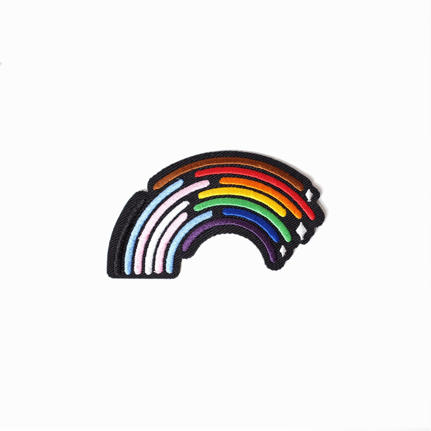 Inclusive Rainbow Pride Patch