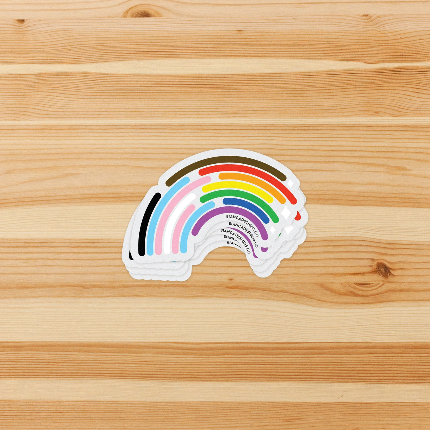 Inclusive Rainbow Sticker